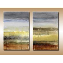 Peinture à l'huile abstraite à prix bon marché Leasted Group