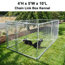 Small Outdoor 6 X 4 Feet Steel Chain Link Portable Yard Kennel Dog House Cage