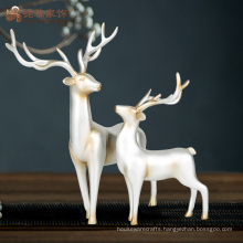 Custom indoor decorative life size resin deer statues