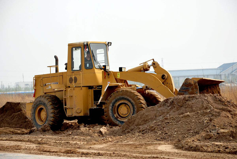 Wheel Loader Operate