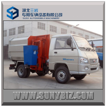 3 Cubic Small Electric Hydraulic Hanging Bucket Garbage Truck