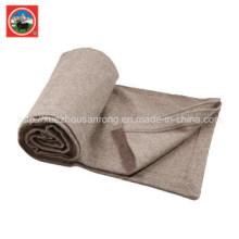 Camel Wool Blanket / Yak Wool Knitwear / Tissu Cachemire / Laine Textile / Tissu / Literie