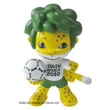 PVC Mini Promoção Vinil Verde Bonito Design de Fábrica De Plástico Melhores Brinquedos Feitos