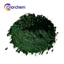 Pigmento verde de óxido de ferro para tijolos