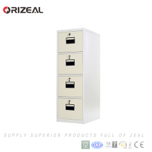 Orizeal Chinese supplier vertical military storage cabinet metal 4 drawer file cabinet(OZ-OSC021)