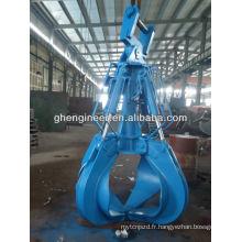 Pelle hydraulique à l'éplucheuse à l'écaillage pour la ferraille métallique