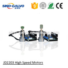 high speed galvo scanner electronic motor load reflecting mirrors