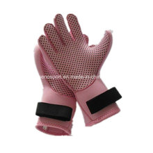 Hot Sales Pink Women Neoprene guante de surf (SNNG07)