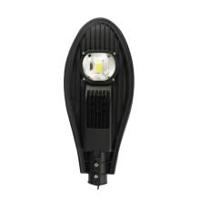 luz de rua led 50w luz de rua led impermeável luz de rua led lâmpada de jardim de estrada branco quente / frio