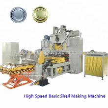 High speed basic shell bottom lid aluminum caps making production line for food beverage can packing