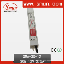 Motorista de tira constante impermeável IP67 do diodo emissor de luz da corrente de 6-12V 2.5A