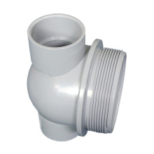manufacture custom industry small parts precision injecting pieces plastic injection molding pvc pipe