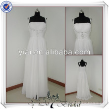 JJ2207 пляж шифон-line без хвоста свадебные платья для пожилых невест