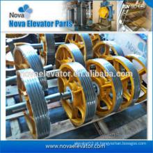 Elevador Polia de ferro fundido / Elevador Polia de ferro fundido Polia / Defletor de ferro fundido Polia