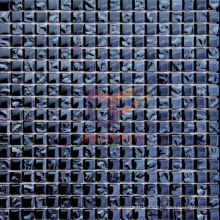 Wall Decoration Blue Titanium Glass Mosaic (TC307)