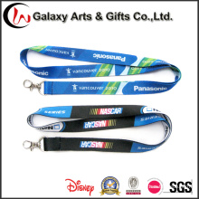 Promotional Logo Custom Sublimation Printed Polyester Lanyard Designs