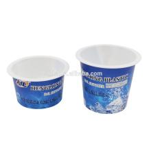 IML pp plastic storage pots for yogurt