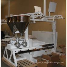Máquina de panificação de pão de chapa grande