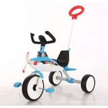 Triciclo al por mayor del bebé del triciclo del cochecito de niño del cochecito