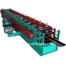 QJ Automatic C-Purlin Roller dá forma à máquina