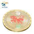 Proveedores de China MOQ bajo Buen precio latón Metal militar Challenge Coin