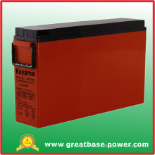 175ah 12V Front Terminal AGM Battery for Railroad Signal