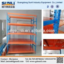 CE Q235B stockage Heavy Duty boulonné étagères en acier