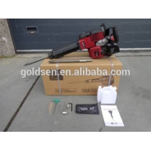 1700w 2.4HP 52cc Professional Portable à essence Essai à démonter Jack Hammer GW8192