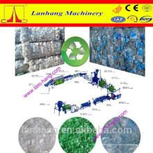 Máquina de reciclagem de garrafas de plástico