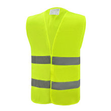 Best quality Low price for Reflective Vest Reflective Safety Vest with 2 horizontal reflective tape supply to Zimbabwe Suppliers