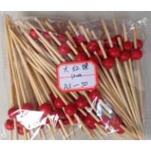 Broche en bambou rouge de haute qualité 2016 en Chine