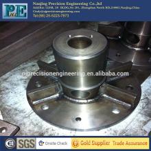 De alta precisión cnc mecanizado soldadura de aleación de acero gran brida