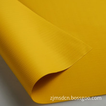 Yellow Color 18*12 PVC Laminated Fabric for Air Duct, Mines
