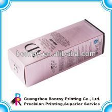 Emballage de boîte de parfum de carton cosmétique avec la stratification brillante