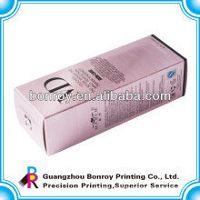 Perfume Box Packaging of Cosmetic Carton With Glossy Lamination