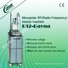 R12 profesional monopolar RF radiofrecuencia máquina de elevación de cara