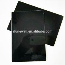 High gloss black PVDF coating 5*0.35 ACP