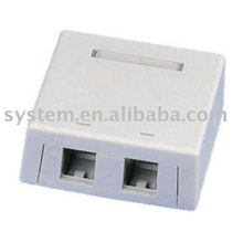 Surface mount dual port box