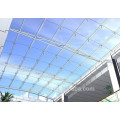 Opal Polycarbonate Hollow Sheet Transparent Roofing Sheets Used For Garage