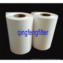 Membrana de filtro de PTFE hidrófobo 0,22 con capa de soporte PPS