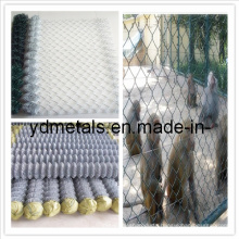Galvanized Diamond Wire Mesh Fence