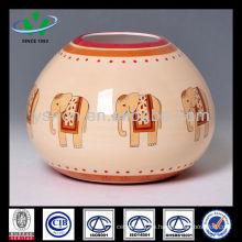 Handgemaltes Elefant Home Decoration Vase