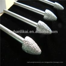 broca de diamante de alta calidad que muele la broca para el mármol de piedra