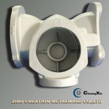 China Fabricante de fundición de aluminio Cuerpo de válvula para bomba de flujo