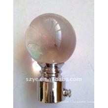 Fil de verre à billes en cristal pour tube de fenêtre