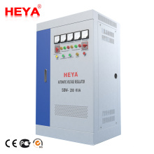 Sbw 200Kva Compensated Power Regulator Three Phase 380V Ac Voltage Stabilizer For Lift Elevator