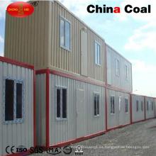 Bajo precio 20FT 40FT de lujo estándar prefabricada Living Container House