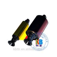 Primacy Pebble 4 200 imprints ymcko id color printer ribbon