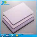 Vente en usine de feuilles de plastique en polycarbonate transparent de 10 mm