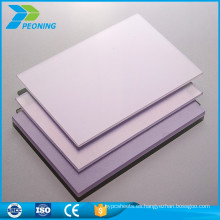Placa prismática plástica del carbonato de la venta-venta caliente al por mayor 10m m
